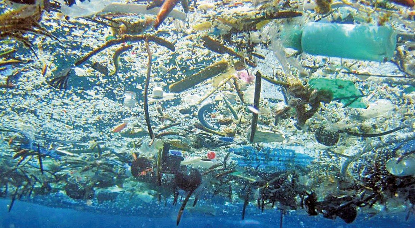 研究指出,太平洋垃圾帶超預期。採集到的塑膠大部份來自中國和日本,其中最老的塑膠可以回溯到 1977 年。(NOAA)