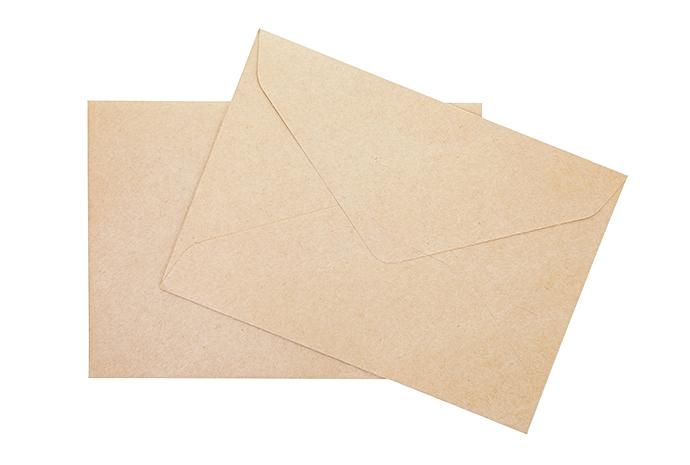 信封裏裝的是對方的彩珠,就代表配對成功了。