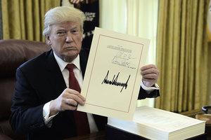特朗普減稅後 美公司進入七年來最佳收入季