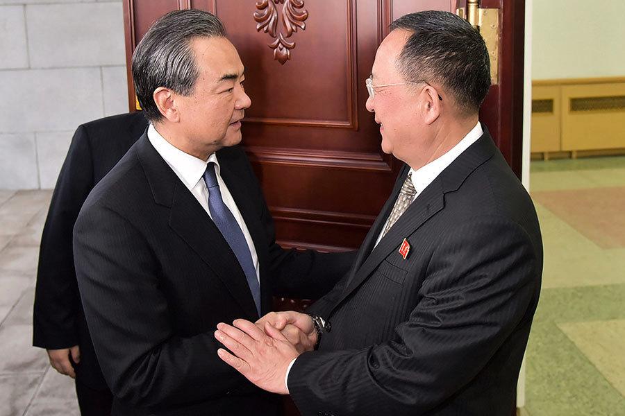 王毅訪朝見金正恩 北京或擔心利益受損