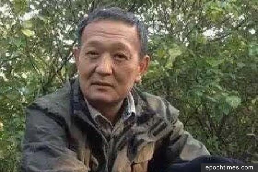 4月17日,王健被失聯。18日晚,警方對王健家進行強行搜查。(推特圖片)
