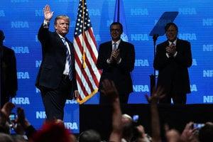 特朗普NRA年會演講 涉國內外重要議題