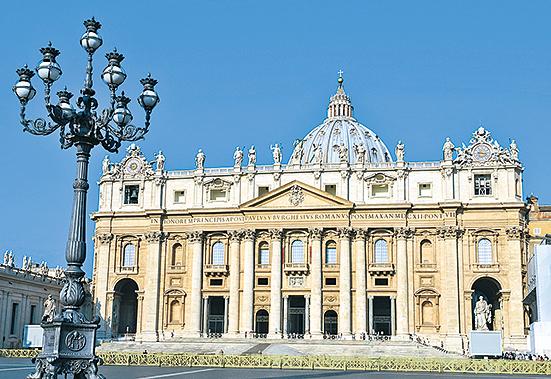 聖彼得大教堂。(Fotolia)