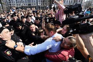 俄反普京大遊行1600示威者被捕 美籲快放人