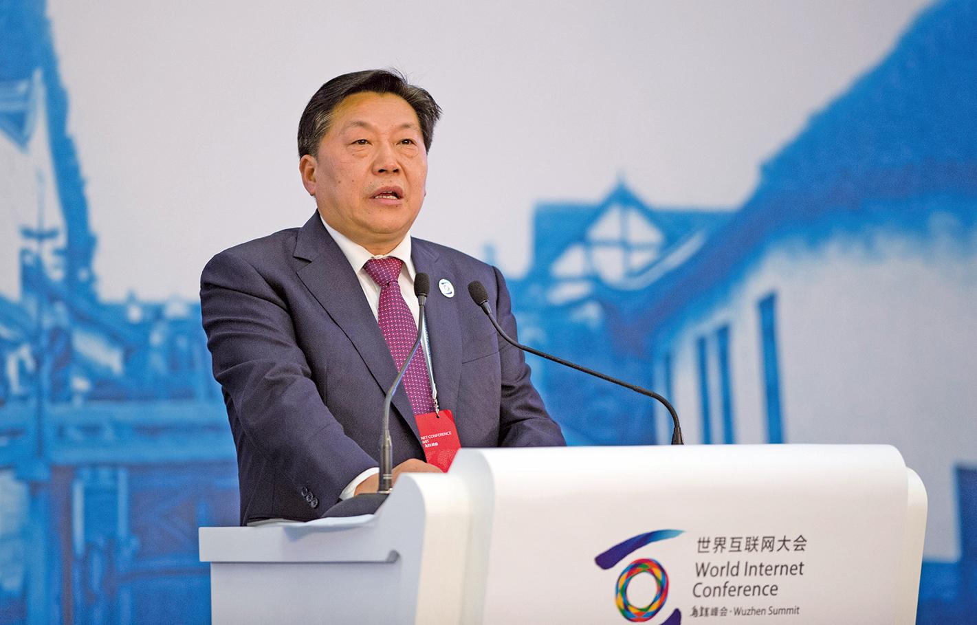 中宣部副部長、網信辦主任魯煒案被習陣營列為反面典型,影射其政變罪行。(Getty Images)