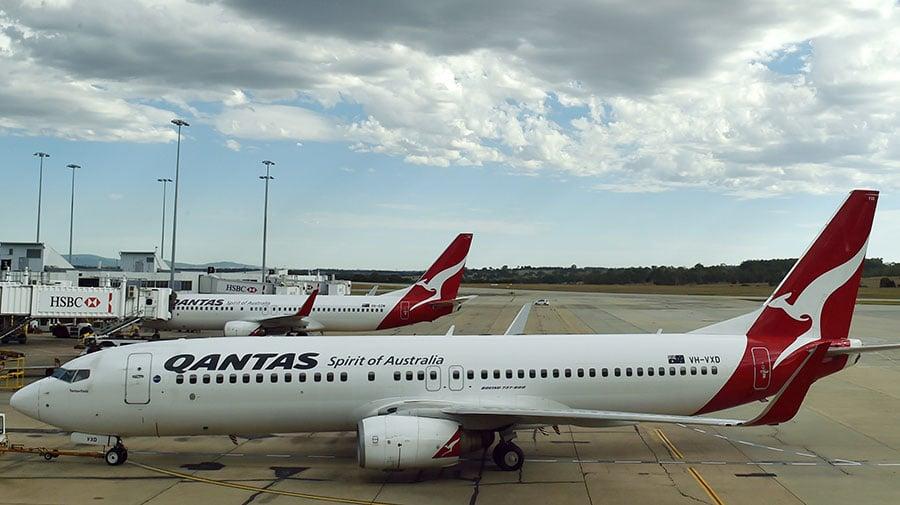 澳洲外交部長畢曉普已經警告北京當局,反對其威脅澳航Qantas,迫其依照中共的政治定義,修改其網站和宣傳資料上的描述,稱台灣是中國大陸的一部份,而非獨立國家。(SAEED KHAN/AFP/Getty Images)