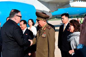 蓬佩奧周二高調去北韓 為特金會搭建框架