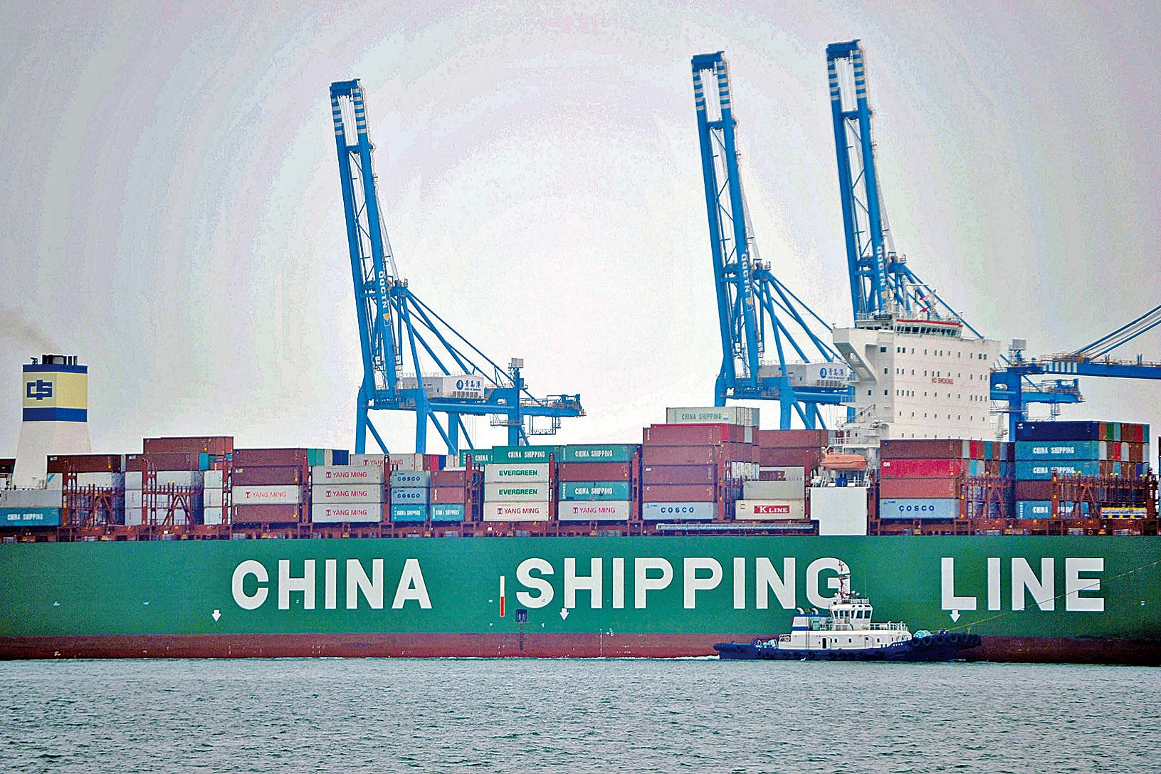 4月貿易數據顯示,國際市場需求不足且中國訂單向外轉移,貿易前景黯淡。(Getty Images)