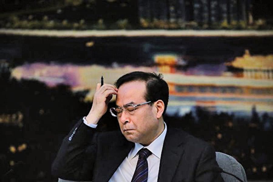 孫政才遭中紀委機關報點名 被批「抖派」