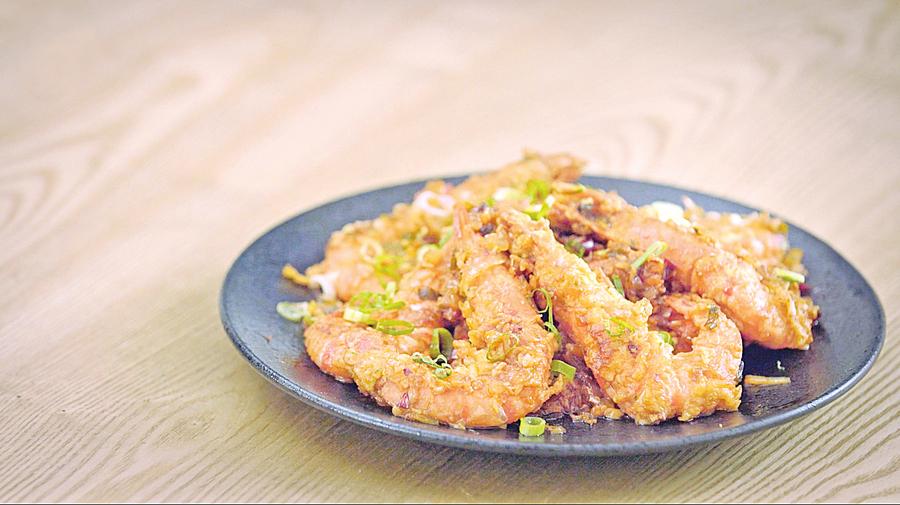 聚會料理乾燒蝦