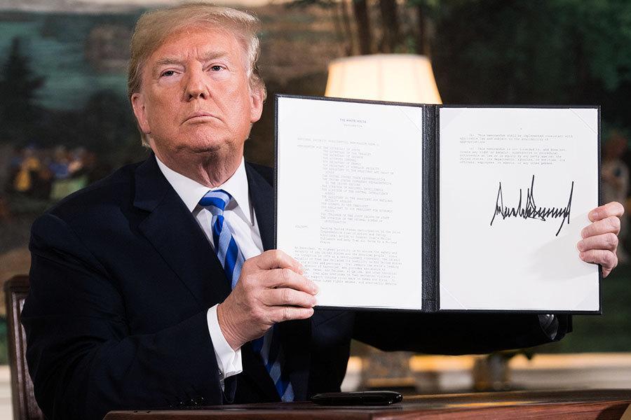 退出核協議 特朗普將對伊朗重祭哪些制裁