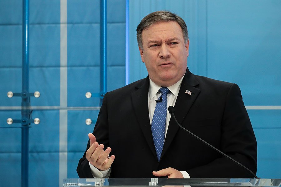 美國國務卿蓬佩奧在9日抵達北韓,為即將到來的美朝峰會做相關的準備工作,敲定特朗普與金正恩會面的一些細節問題。(Drew Angerer/Getty Images)