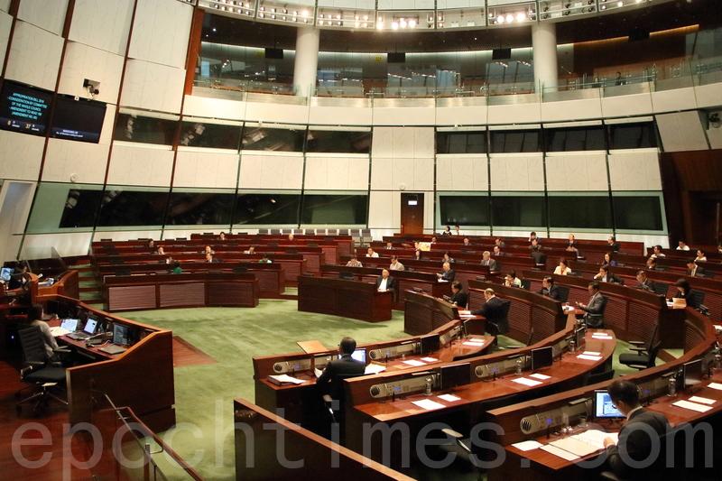 立法會三讀通過撥款條例草案