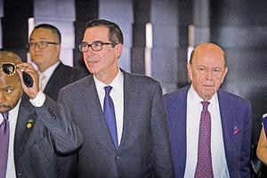 美商務部長:中美貿易談判立場相差甚遠