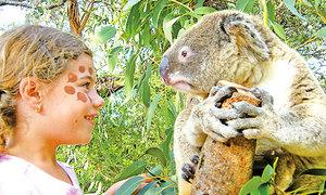 遊悉尼野生動物園 貼身接觸小動物