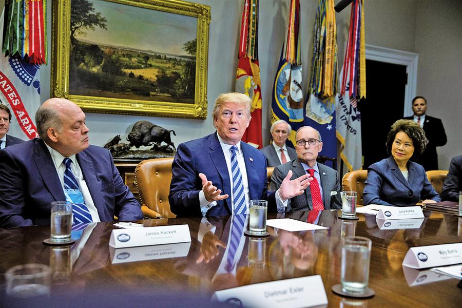 特朗普提議對進口汽車徵收20%關稅