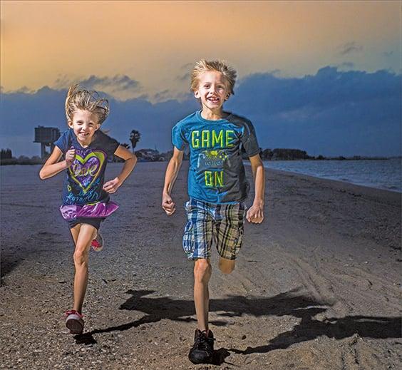為甚麼小孩整天跑來跑去而不覺得累?最新研究發現,那是因為小孩的肌肉天生可以抵抗疲勞,甚至可以和耐力運動員相媲美。(Creative Commons)