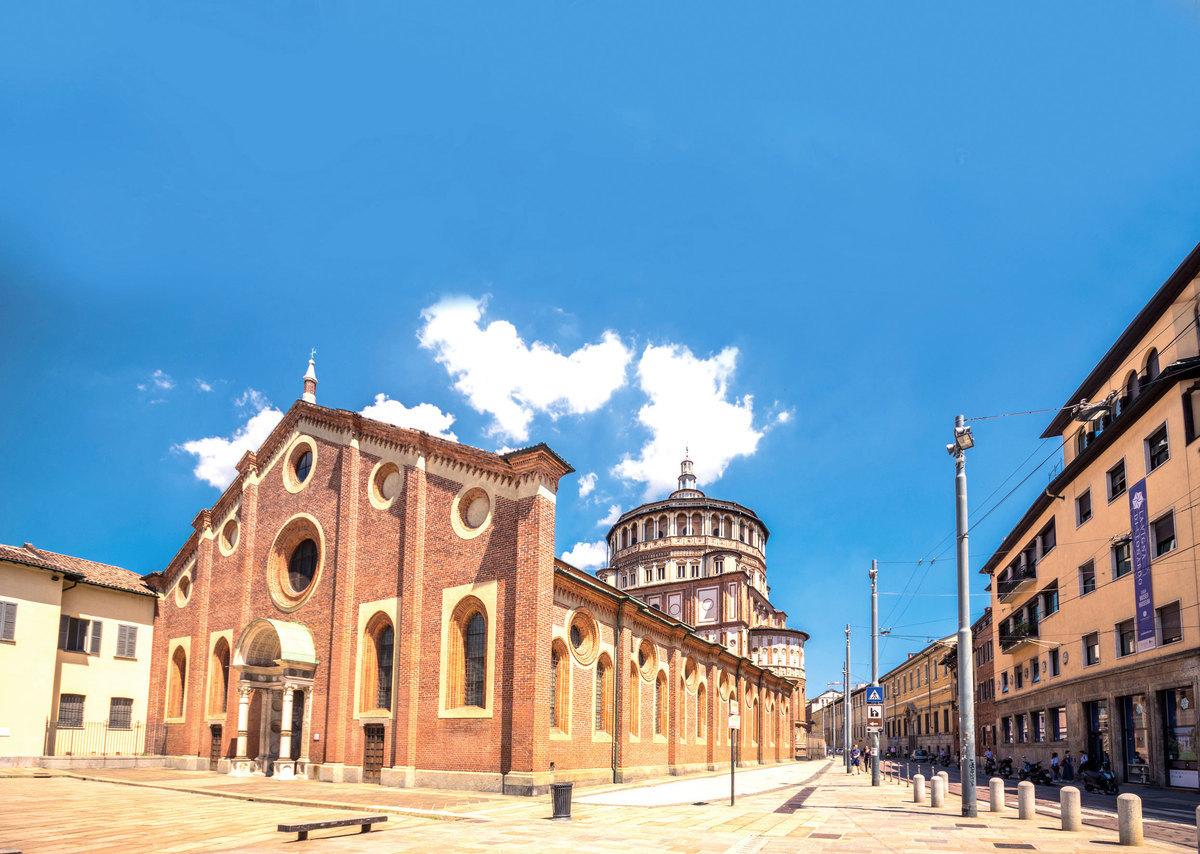 意大利米蘭天主教建築「恩寵聖母」。(Fotolia)