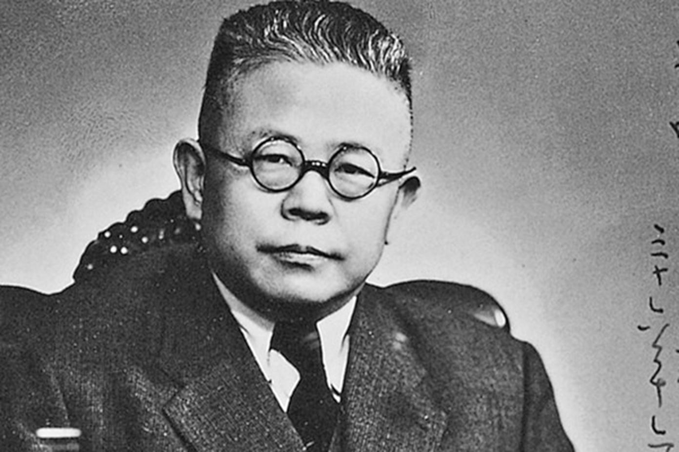 民國國學大師傅斯年。(網絡圖片)