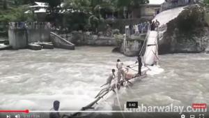 巴基斯坦一木橋垮塌 至少五學生死數十人失蹤