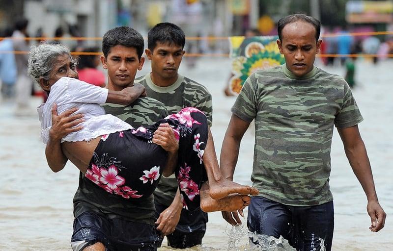 斯里蘭卡泥石流埋3村莊 200家失聯