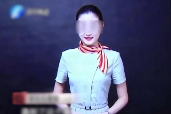 被害空姐李明珠生前照片。(視像擷圖)