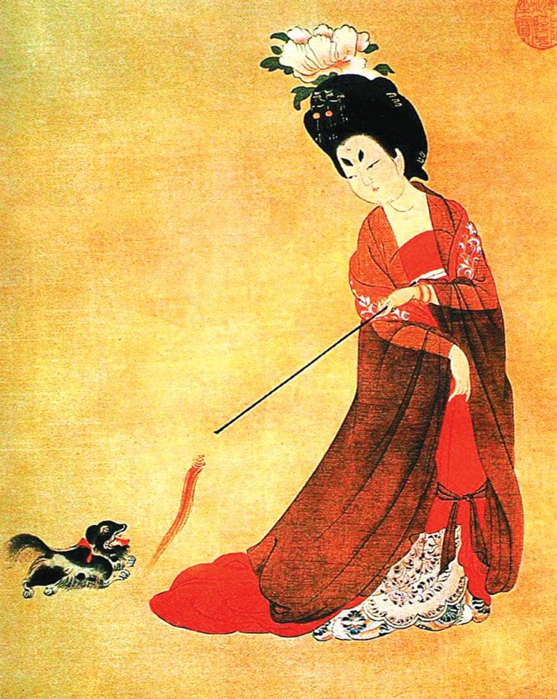 國色天香誇牡丹 誰是最早的國色美人?