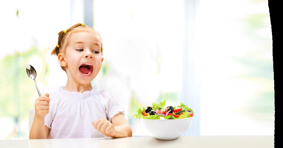 學齡兒童不挑食 好習慣從吃對開始