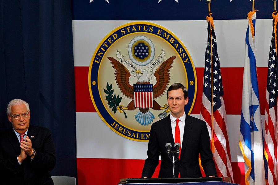 庫什納:美國很快會宣佈中東和平計劃