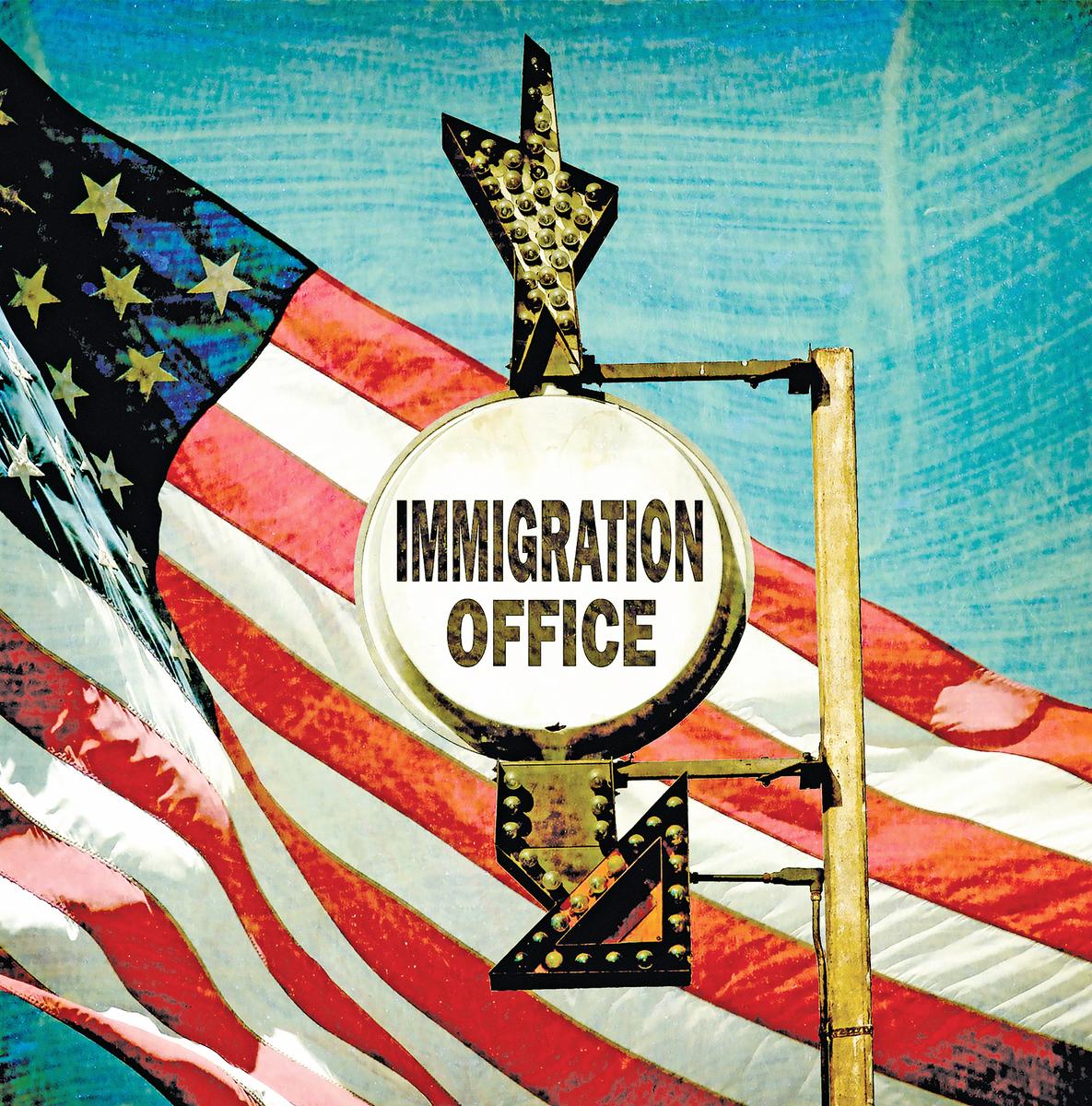 待審移民案件達到「天文數字」,成為限制美國移民局有效履行職能的一大障礙。(Fotolia)