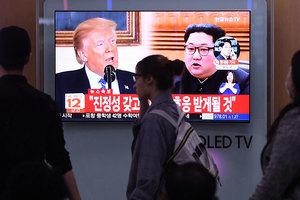 金正恩因美韓軍演威脅特金會 白宮回應