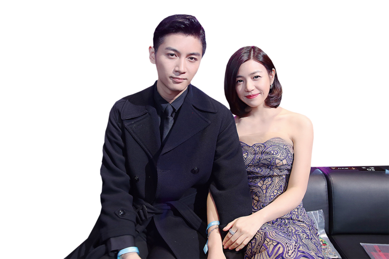 陳妍希準新娘 7月北京嫁陳曉