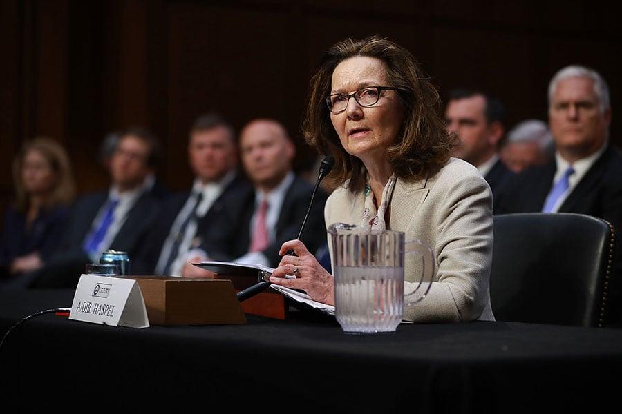 哈斯佩爾5月9日出席情報委員會提名聽證會時表示,中情局中國(共)問題小組每周都要向總統或國防部長匯報工作。她說,中情局在中國(共)問題上「必須做得更多」。(Chip Somodevilla/Getty Images)