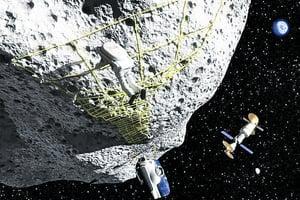 人類擬建太空採礦平台  競爭波及小行星