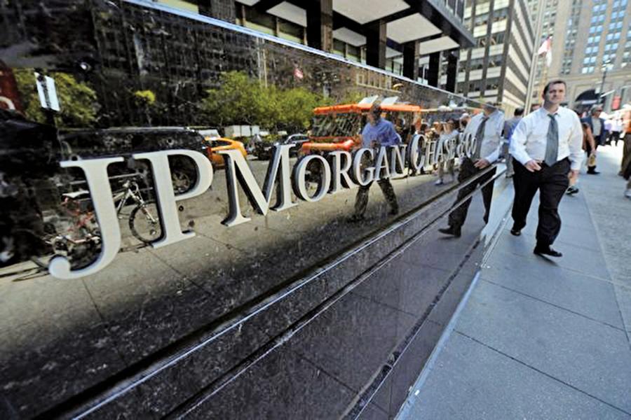 摩根大通申請在華設立控股券商