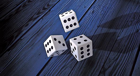 隨著電腦運算速度的快速提升,對數字的隨機程度的要求也在不斷提高,靠擲骰子、拋硬幣,顯然已經不能滿足生成隨機數字的需要。研究者們找到了利用量子學生成隨機數字的方法,並證明這是迄今為止最有效的有機數列生成方法。(Creative Commons)