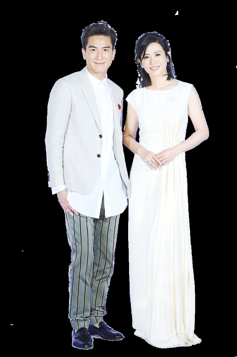 宣萱和馬國明期望合作,可以演另類情侶。(宋碧龍╱大紀元)