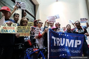 南加州反庇護先鋒獲邀前往白宮晤特朗普總統