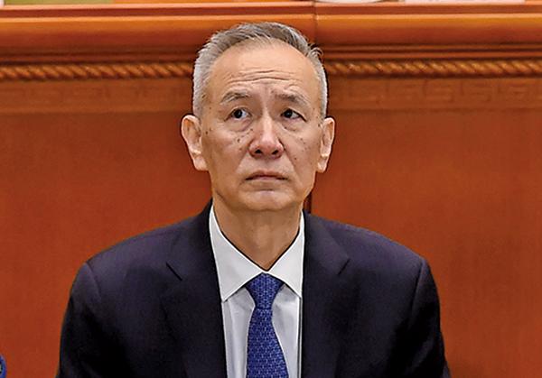 中共國務院副總理劉鶴率中方貿易訪美團抵美開始第二輪談判,美國商界人士表示,中共這次沒有多少「朋友」。(AFP)