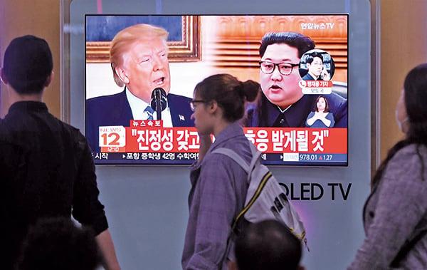 北韓金正恩揚言「特金會」變卦,時機與中美貿易談判巧合。(Getty Images)