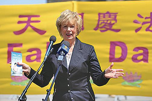 加拿大國會議員史葛洛(Judy Sgro)