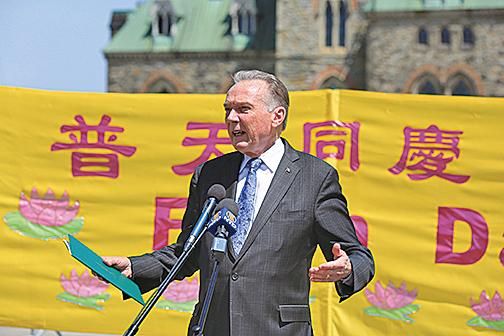 加拿大國會議員肯特。(大紀元)