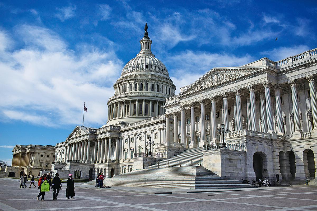 美國國會大廈。(Getty Images)