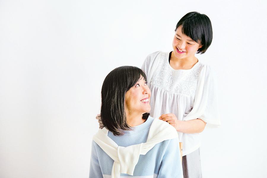 幫媽媽染健康秀髮 好幸福