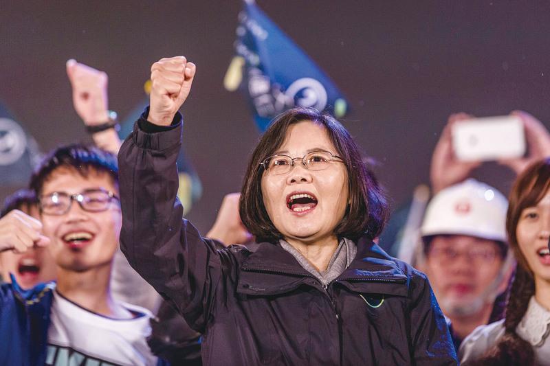 蔡英文就任中華民國總統 台海關係前景受矚目