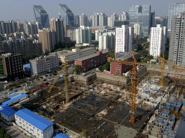 中共地方當局舉債購買住房埋下債務崩潰隱患。(Getty Images)