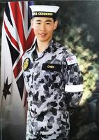 「笨孩子」入皇家海軍軍樂隊