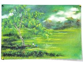 垂釣綠灣春
