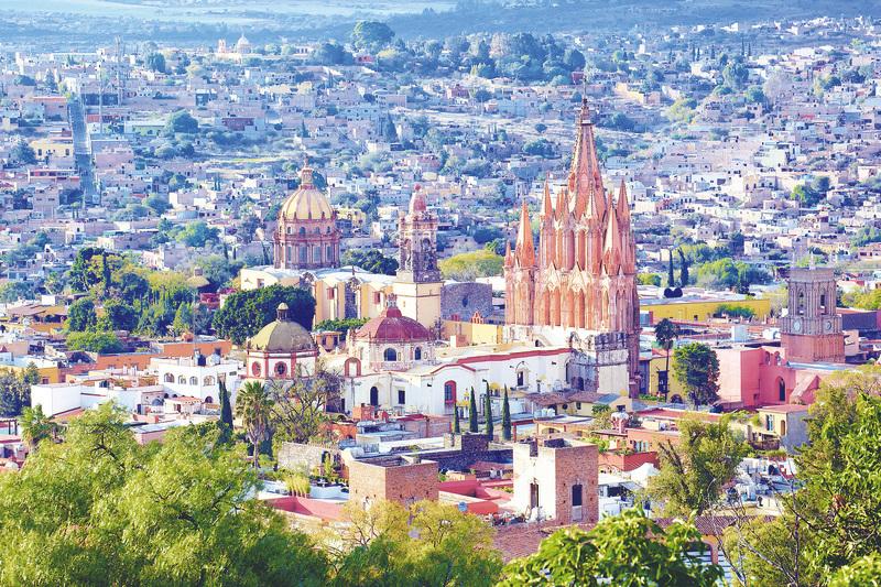 西哥的聖米格爾,是當前熱門新興房地產市場之一。(Wiki commons)