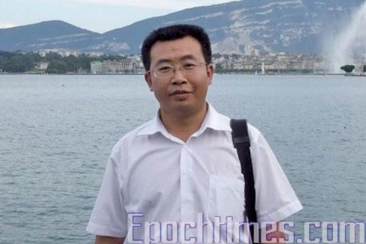 中國著名維權律師江天勇。(網絡圖片)